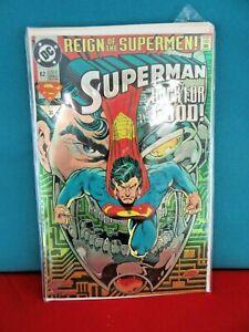 69 Reign Of The Supermen 82 Oct 93 Superman Back For Good 1993 30 Ebay