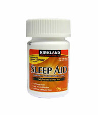 Kirkland Sleep Aid Doxylamine Succinate Tablets, 25 mg 96 Tablets
