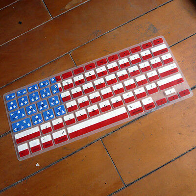 American Flag Keyboard Cover Skin Protector for Retina Macbook Pro Air 13 15