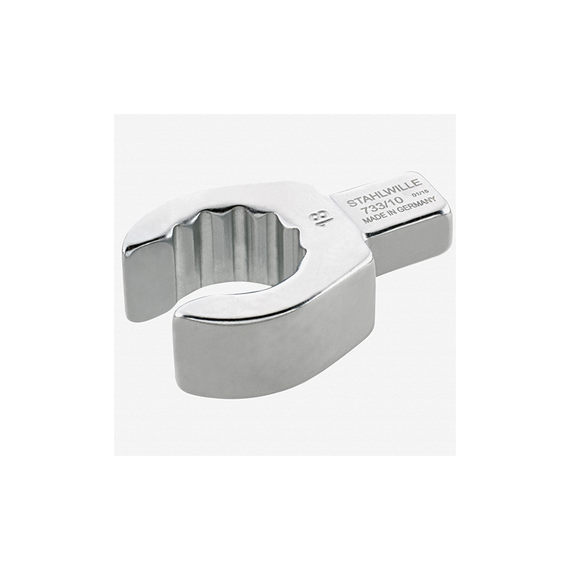 Stahlwille 58231019 733 10 Open ring insert tool 19 mm, 9x12 mm