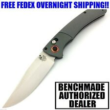 BENCHMADE HUNT CROOKED RIVER G10 CPM-S30V STEEL PLAIN EDGE KNIFE 15080-1 NIB