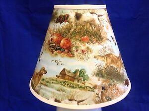 Hunting-Dogs-Handmade-Lampshade-Dog-Lamp-Shade