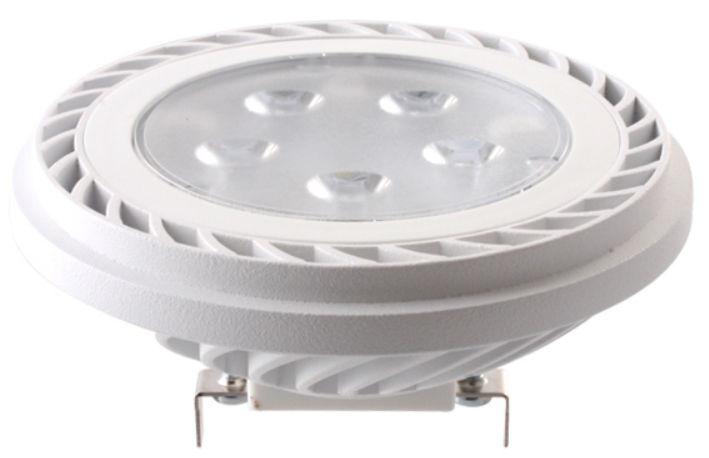 Ledecco ar111 g53 LED Faretto Spot Spot Spot Bianco Caldo 15w  50w 36 ° 12v DC 650lm 3000k ef075e