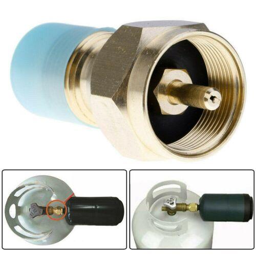 Propane Refill Brass Adapter LP Gas 1 Lb Cylinder Tank Couple Heater Bottles USA