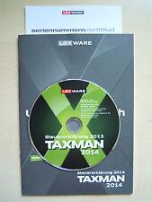 Lexware Taxman 2014 Vollversion für die Steuer 2013 mit Schnellversand