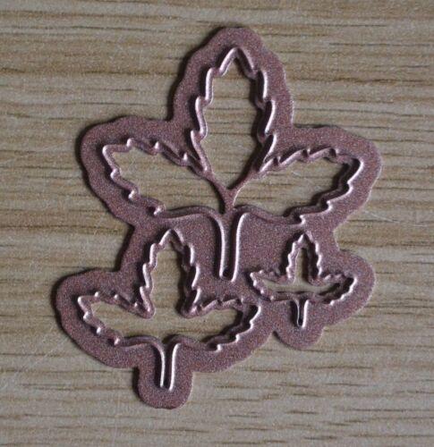 G24 3 X triple Leaf tamaños mixtos Corte De Metales Die