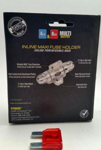 Stinger Inline Fuseholder MAXI 48 AWG Gauge 100 Amp Fuse Holder SPF56100 SPD5601