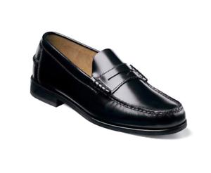 Florsheim Men/'s Berkley Moc Toe Penny Loafer Shoes Black 17058-01