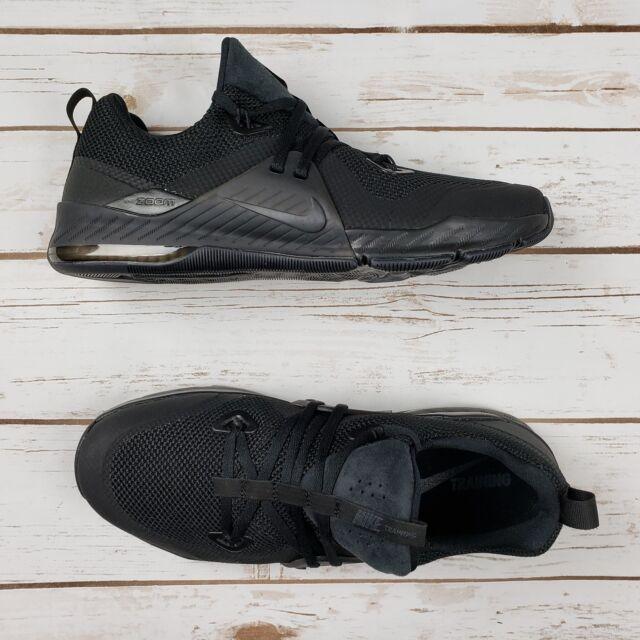86f506dccf77 NIKE Men Zoom Train Command Triple Black Training Shoe 922478 004 - Sz 12  New