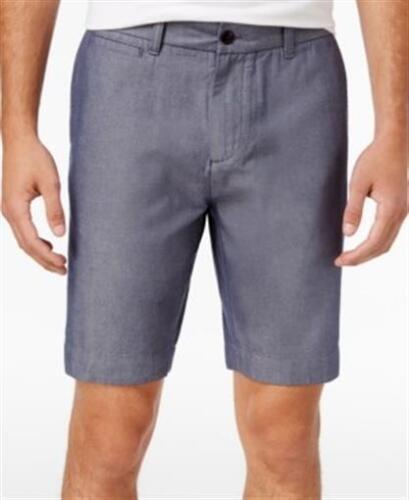 Tommy Hilfiger 9 Inch Chino Shorts Medium Chambray Mens Size 42 New