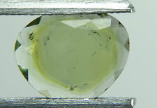 Top quality watermelon tourmaline, slice,2.10ct Brazil around 10mm, faceted