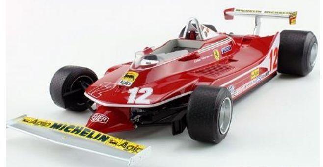 GP REPLICA'S GP12 01B FERRARI 312 T4 F1 model car Gilles Villeneuve 1979 1 12th