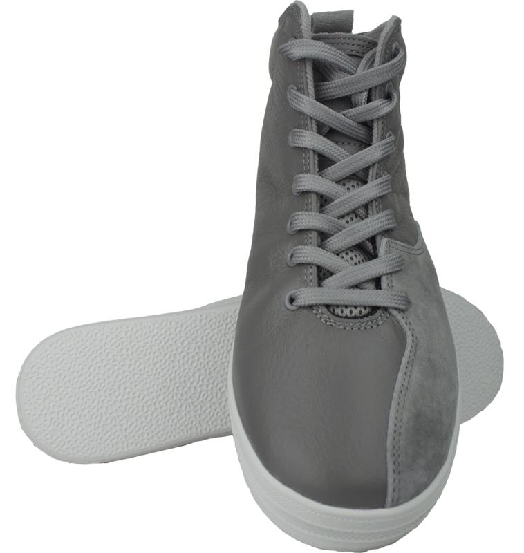 NFN Gourmet Quattro S L Sneaker / grey-white