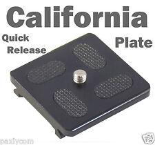 Metal Camera Quick Release Plate for Tripod Monopod Ball Head KS-0,KS-1,KS0,KS1