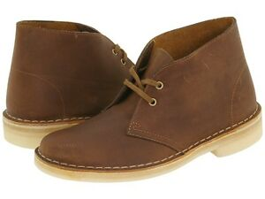 6f836cafa10 Details about Womens Clarks Desert Boots Beeswax Leather 70294 ( 26111499 )