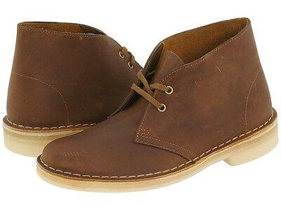 Womens Clarks Desert Boots Beeswax