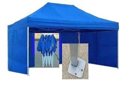 4pcs Rectangular Bracket Legs Base Pops Feet up For Tent Gazebo Stall Marquee UK