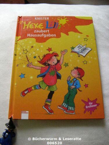 1 von 1 - Knister HEXE LILLI ZAUBERT HAUSAUFGABEN Bücherbär