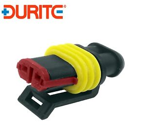 Durite Superseal Connector 1.50mm Female 2 way Bg1-0-011-62