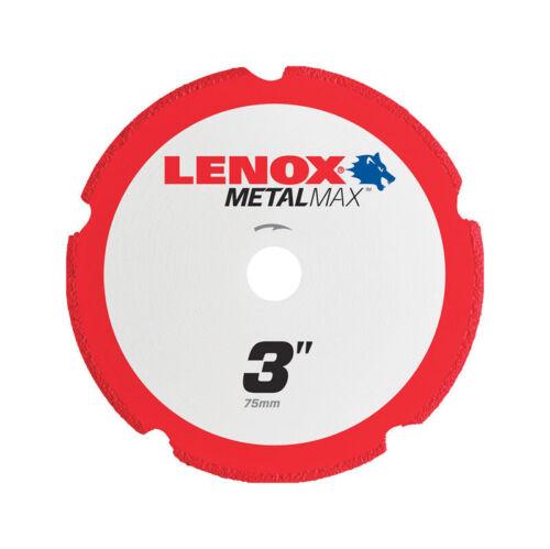 Lenox  MetalMax  3 in Diamond//Metal  Metal Cut-Off Blade  1 pc. Dia x 3//8 in