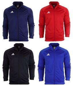 Adidas-Mens-Core-18-Jacket-Activewear-Tops-Sports-Football-Running-Gym-Size