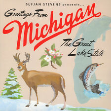Sufjan Stevens - Greetings From Michigan: The (Vinyl 2LP - 2004 - US - Reissue)
