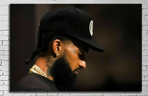 #EX01 Nipsey Hussle 20x30 inch Poster inch 8mil Paper