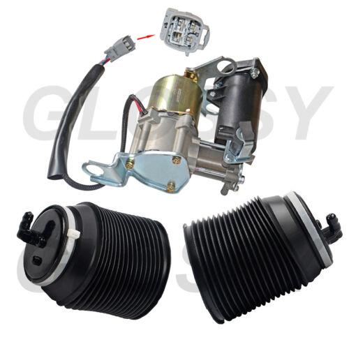 Air Suspension Compressor /& Spring For Toyota 4Runner Land Cruiser GX460 2010-18