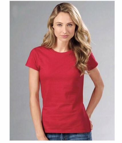 New Basic Crew Neck Women/'s Girls Plain T Shirt Tees Ladies Vest Top Vest