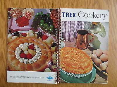 Vintage BAKING TREX Cookery Book Booklet OLD 1964 Pastry Cakes Recipes