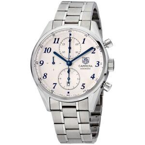 Tag Heuer Carrera Automatic Movement Silver Dial Men's Watch CAS2111BA0730