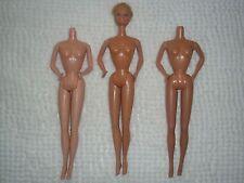 Barbie Y Amigos ~ Lote 10 ~ mal estado Superstar era partes del cuerpo