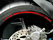 2015 SUZUKI GSXR gixxer 1000 750 600 Wheel Rim Stickers for both wheels & sides