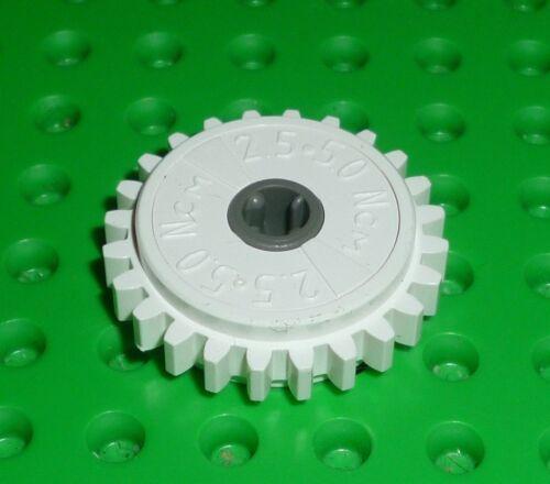 60c01 GEAR 24 Tooth Clutch TECHNIC WHITE x 1 TK1375 LEGO