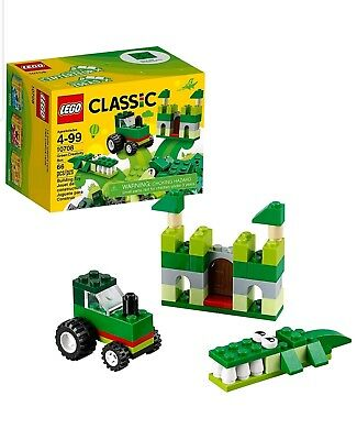 NIB LEGO Classic Green Creativity Box 10708 Building Kit Sealed