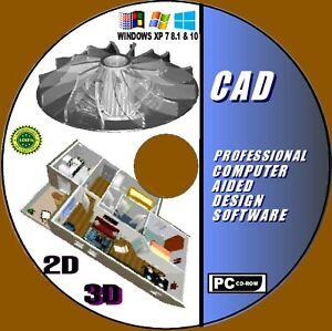 Détails Sur Latest 2d 3d Professionnel Cao Conception Assistée Par Ordinateur Logiciel Windows Manuels Afficher Le Titre Dorigine