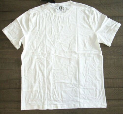 Under Armour Men/'s Charged Cotton Sportstyle Tee 1257616 White Sm Lg XL 2xl 4xl