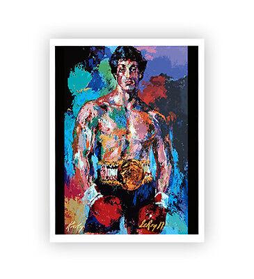 8x11 Rocky Balboa Movie Prop Replica Painting Poster Print