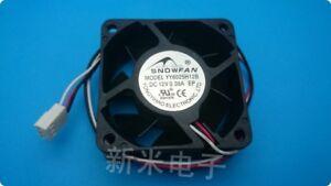 For EVERCOOL EC5015L12EA-B 12V 0.10A 50*15*15mm cooling fan 3pin