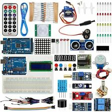 US Super Arduino Starter Kit for UNO R3 Mega2560 LCD Servo Motor Relay Sensors