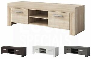 TV-Unit-Cabinet-Stand-Rome-160-cm-oak-effect