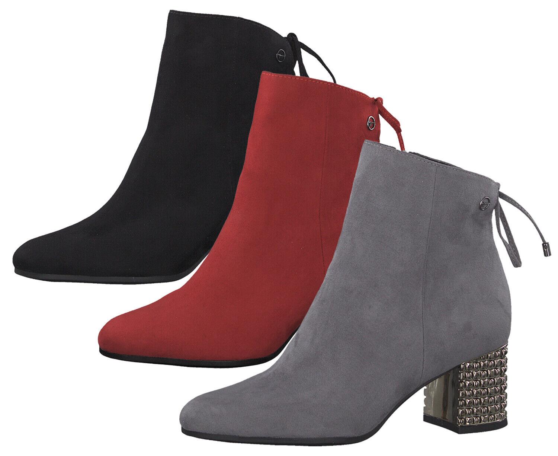 Tamaris 1 25318 23 Schuhe Stiefel Ankle Stiefeletten Damen