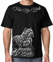 Fear No Bully T Shirt For Men Pit Bull And Bully Breed Lovers Small - 3x 4x 5