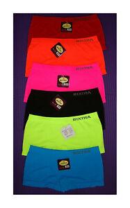 finest selection d6901 90c0f Bixtra Uni Neon Damen Slips Pants Pantys Hipster,6 Farben ...