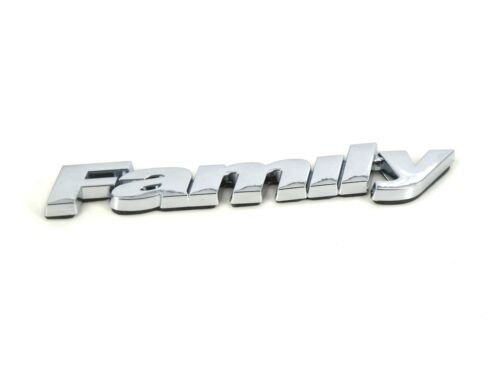 Genuine New FIAT FAMILY BADGE Emblem Panda Punto Qubo Brava Bravo Stilo Doblo