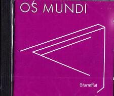 OS MUNDI sturmflut (1973/75) CD NEU OVP/Sealed