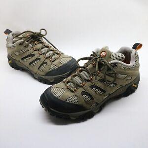 Merrell-Walnut-Moab-Ventilator-Mid-Vibram-Hiking-Shoes-J86593-Mens-Size-9-US