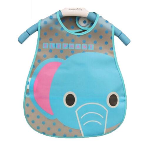 Newborn Baby Cartoon Waterproof Bandana Bibs Feeding Saliva Apron Towel Clothes