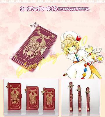 Cardcaptor Sakura Clow Card PU Flip Case Cover For iPhone 6 /6S/6S Plus New