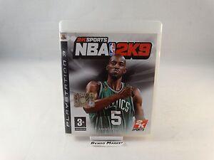 NBA 2K9 2009 09 BASKET - SONY PS3 PLAYSTATION 3 - PAL ITA ITALIANO - COMPLETO